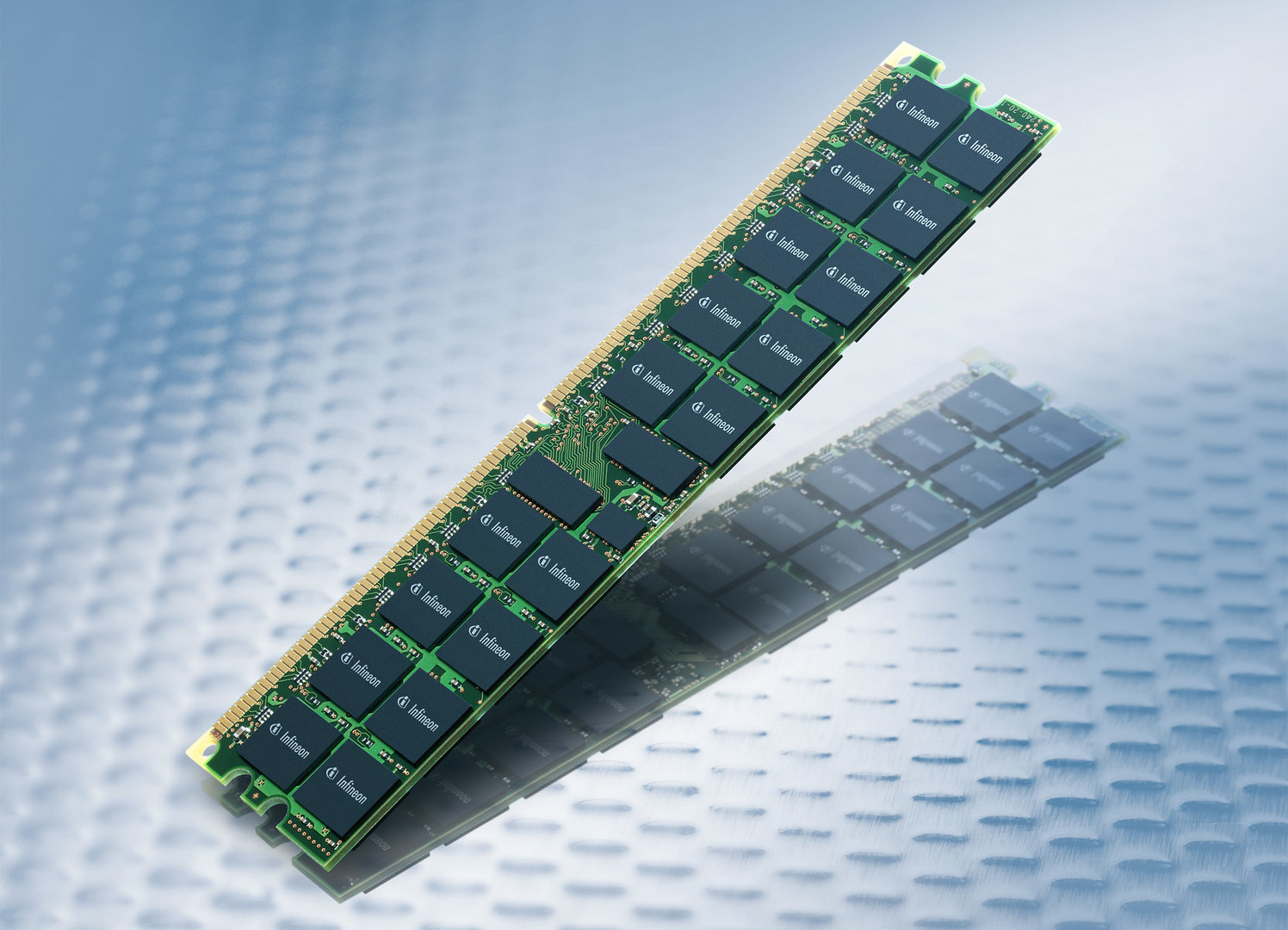Zwei Gigabyte DDR2 Registered-DIMM