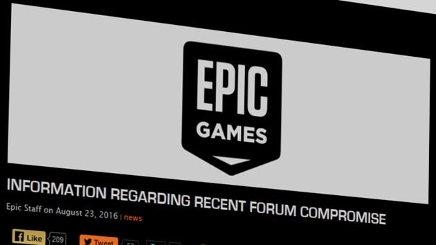 Epic Games: Hacker erbeuten erneut Daten von Forennutzern