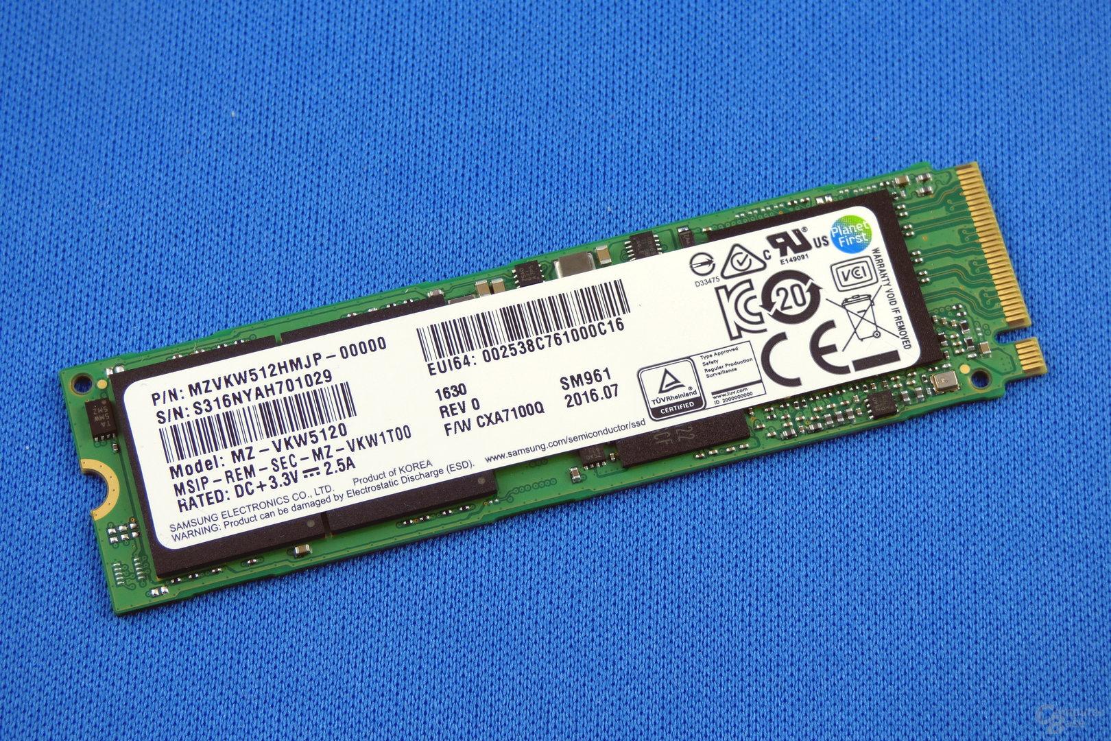 Samsung SM961 512 GB (MZVKW512)