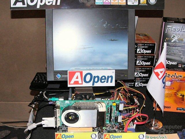 AOpen Aeolus 6800 Ultra im Einsatz
