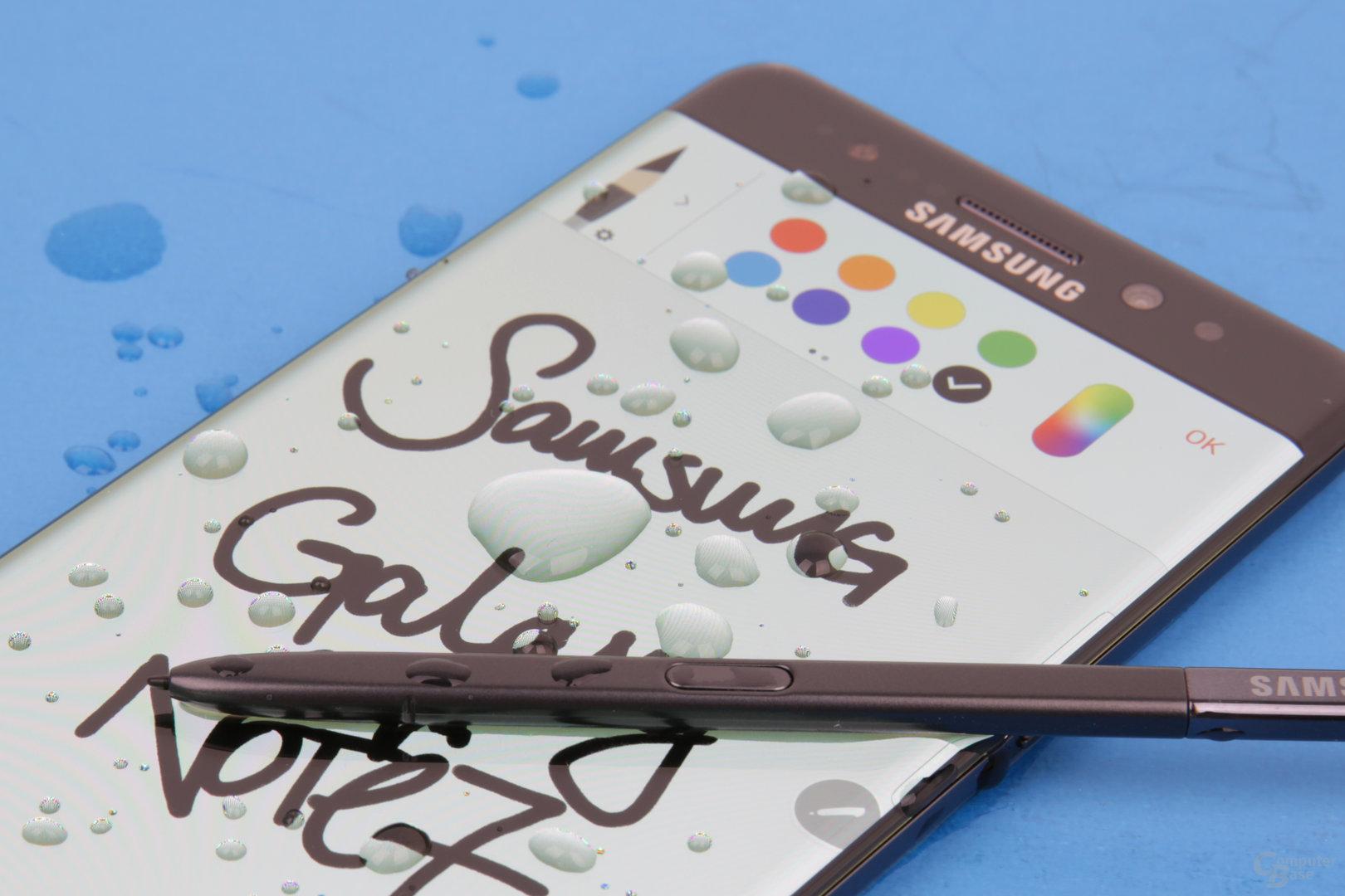 Nur Stylus-Fans sollten beim Galaxy Note 7 zugreifen