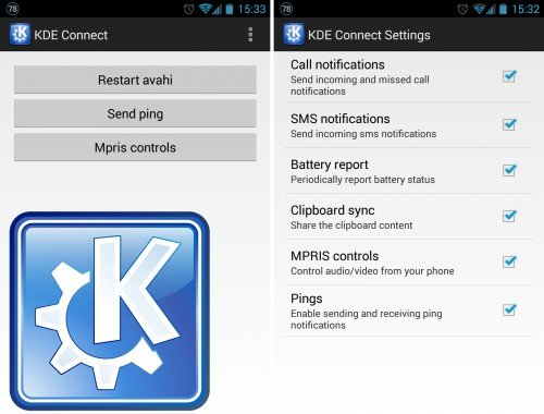 KDE Connect auf Android