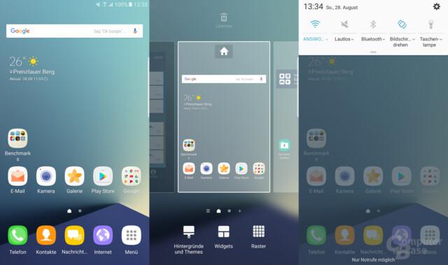 Grace UX Design auf dem Galaxy Note 7