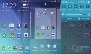 TouchWiz auf dem Galaxy S6