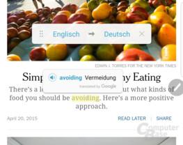 Google Translate als neue Stylus-Funktion