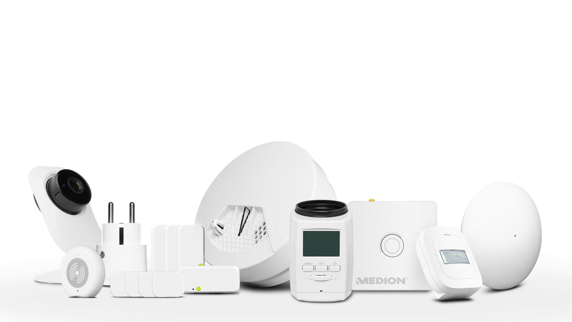 Großes Medion Smart-Home-Set