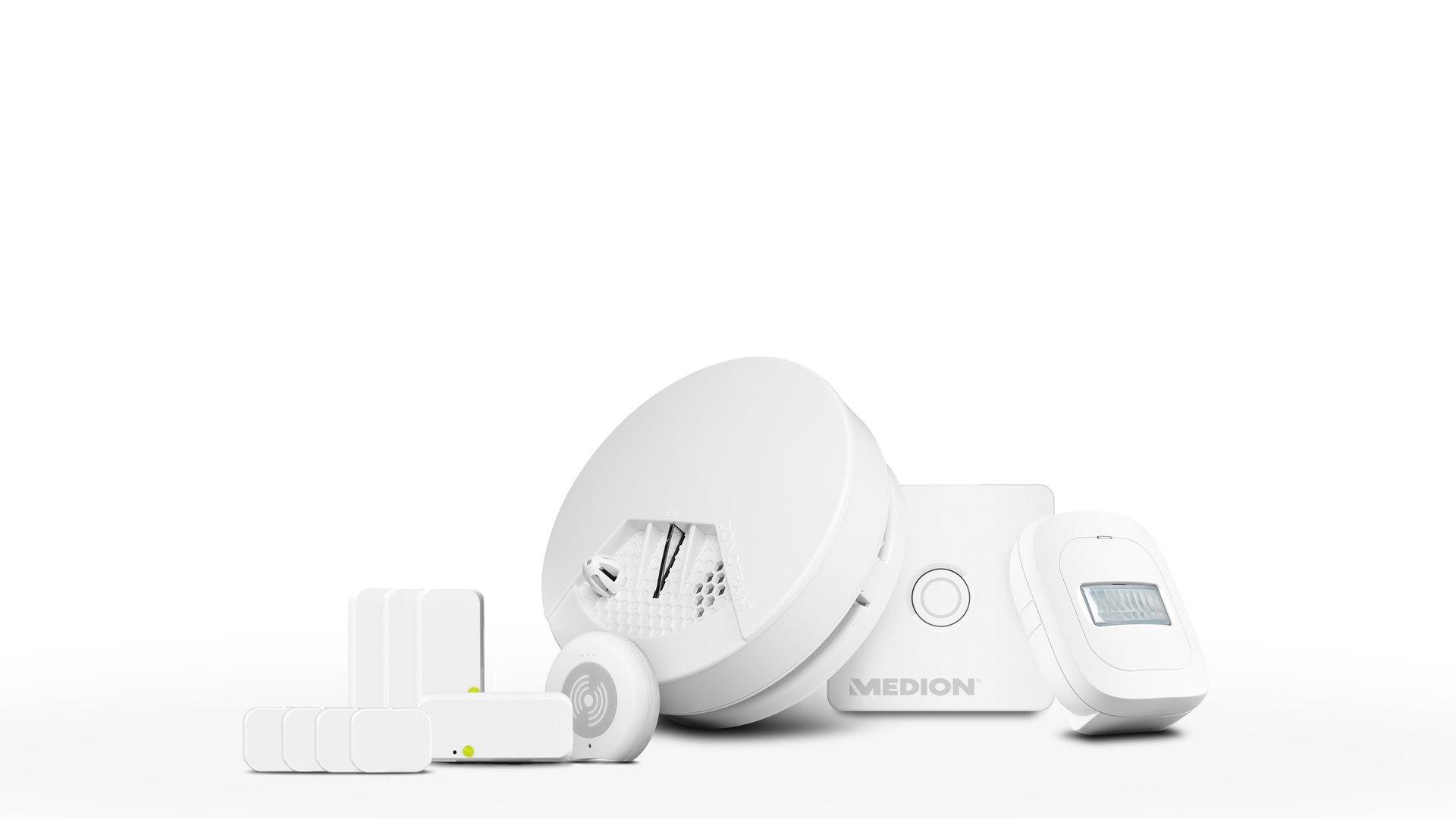 Kleines Medion Smart-Home-Set