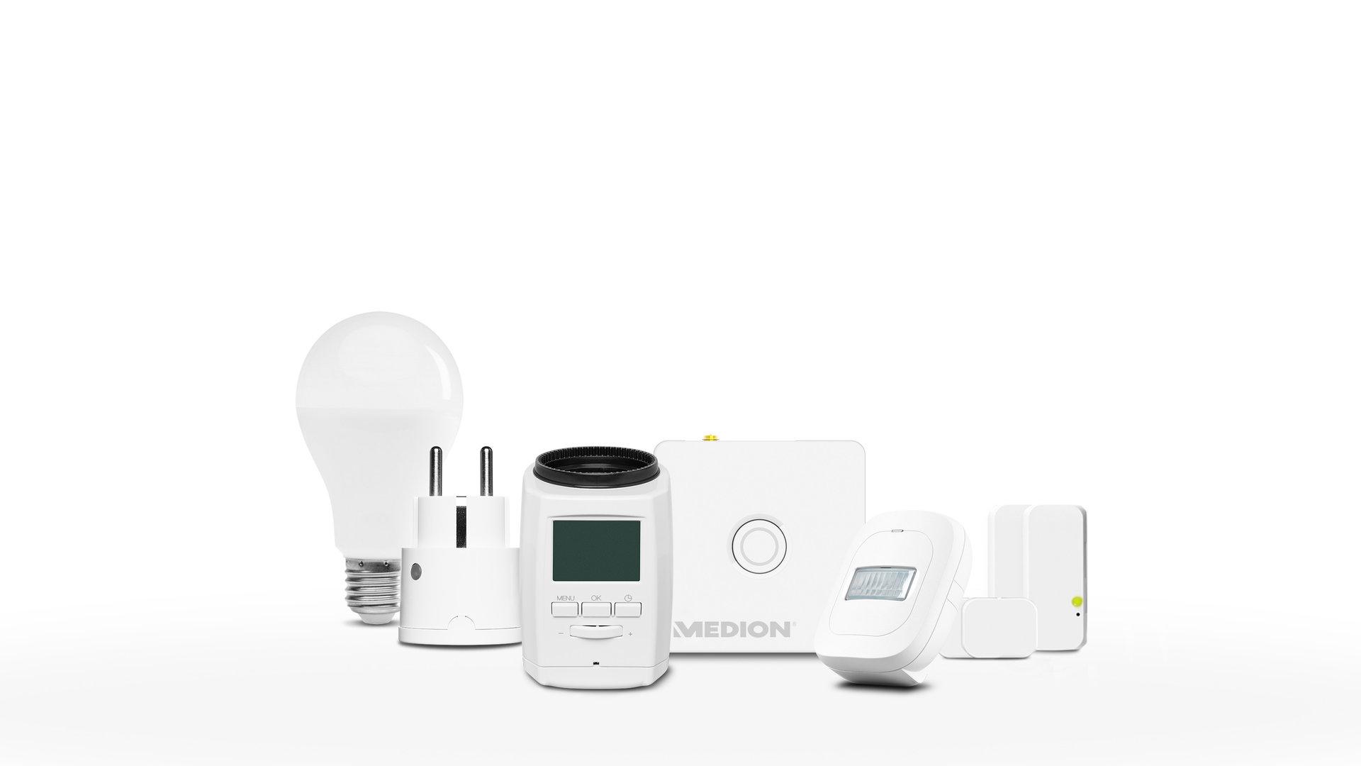 Medion Smart-Home-Set Energie