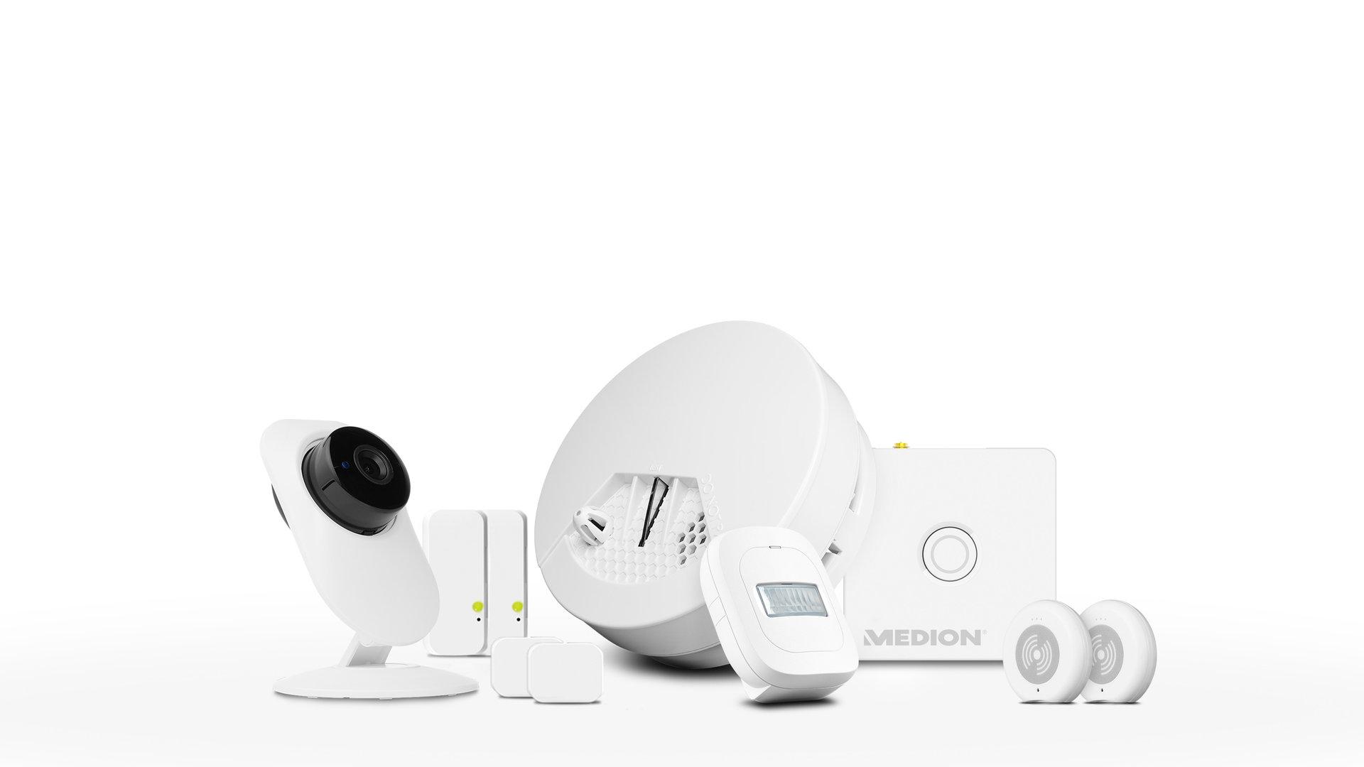 Medion Smart-Home-Set Sicherheit