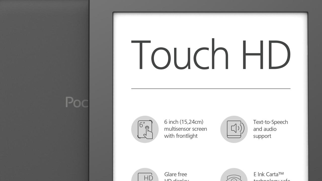 PocketBook Touch HD: Paperwhite-Konkurrent zieht mit hoher Auflösung nach