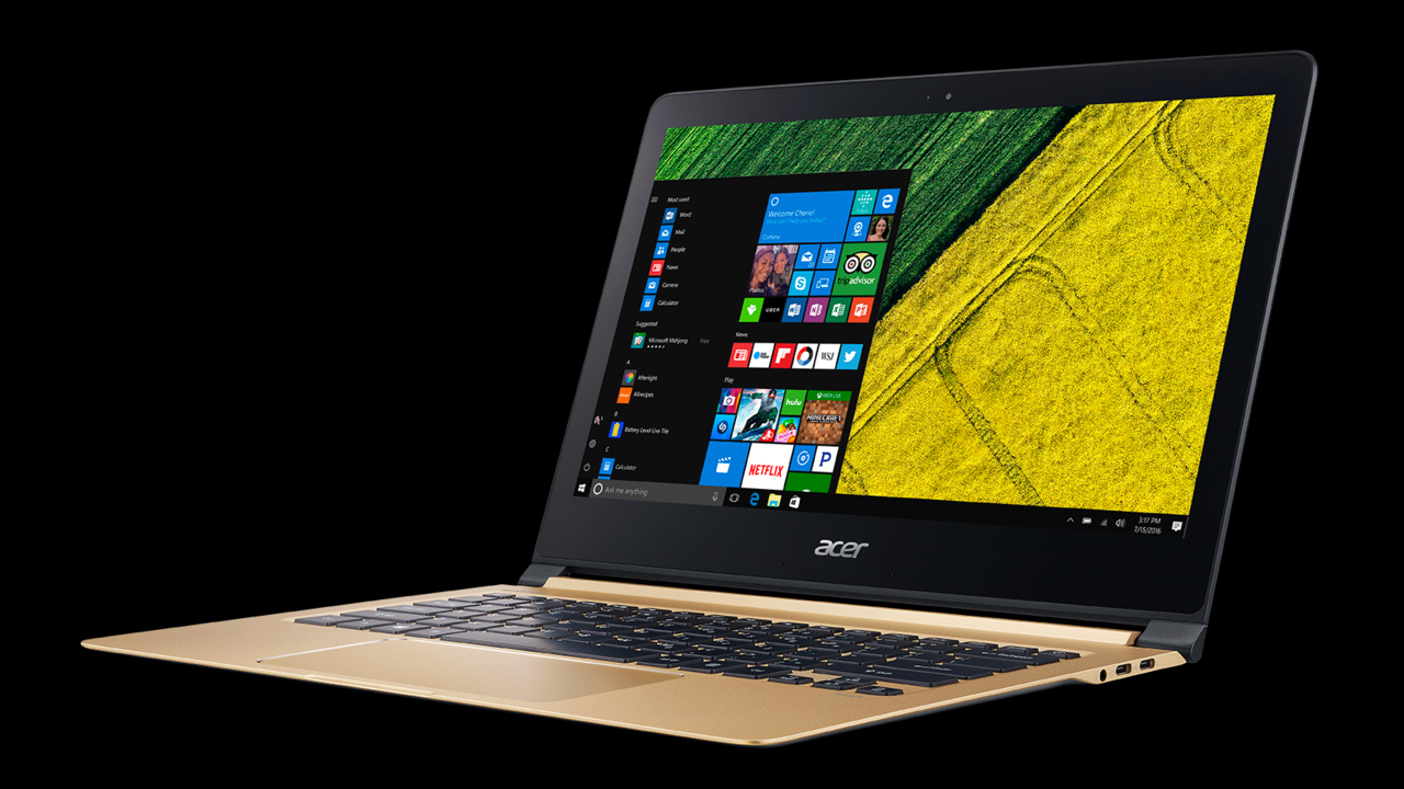 Acer Swift 7: Das dünnste Notebook der Welt