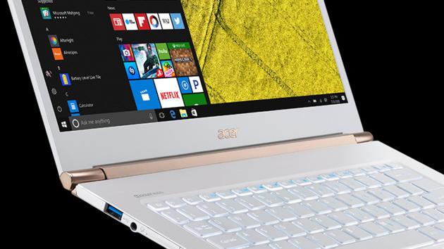 Acer Swift 5, 3 und 1: Neue Serie flacher Notebooks mit Intel Kaby Lake