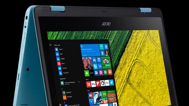 Acer Spin 5 und 1: Günstige Convertibles in 13 und 11 Zoll mit Windows Ink