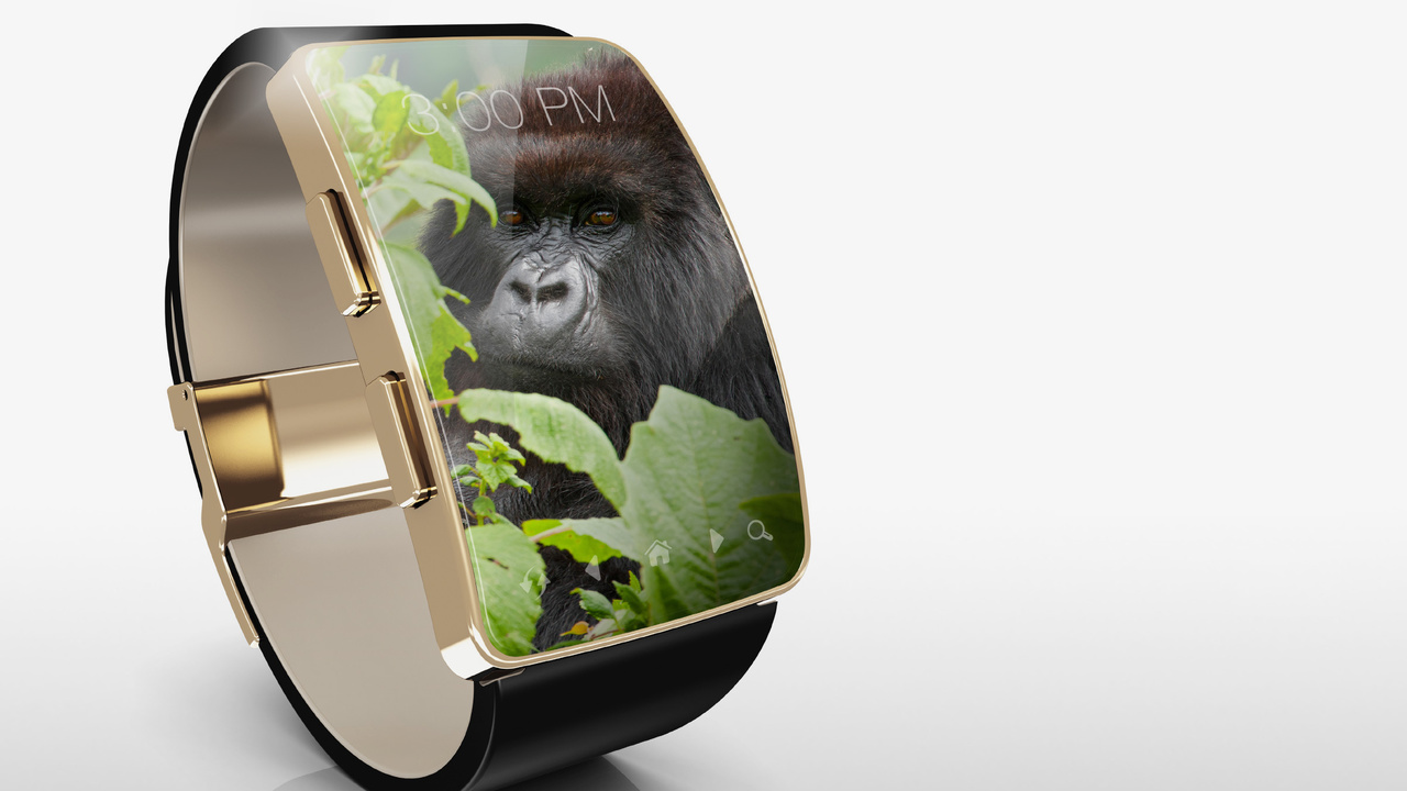 Gorilla Glass SR+: Cornings Spezialglas für Wearable-Bildschirme