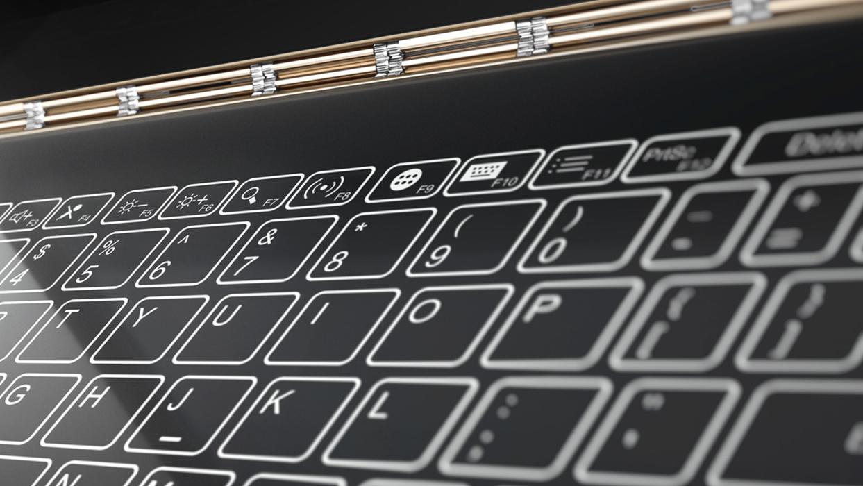 Lenovo Yoga Book: Digitaler Notizblock wandelt sich zur Display-Tastatur