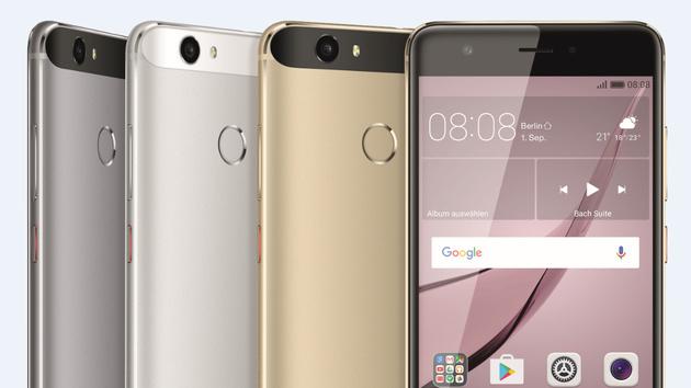 Huawei Nova: 5-Zoll-Smartphone mit interessanter Ausstattung