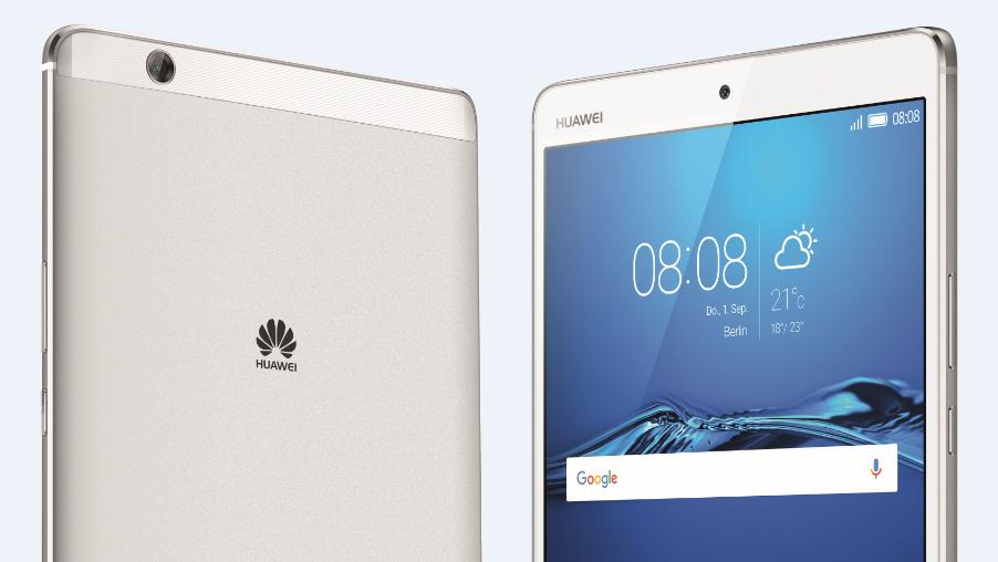 MediaPad M3: Huawei bringt Tablet mit deutlich besserer Ausstattung