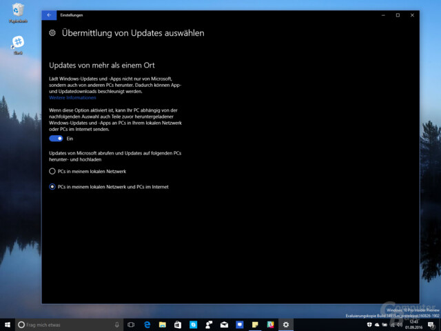 Windows 10 Insider Build 14915