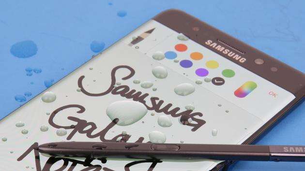 Samsung Galaxy Note 7: Lieferverzögerung wegen Akku-Explosionsgefahr