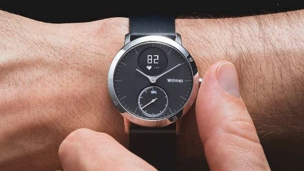 Withings Steel HR: Analoge Uhr samt Display und Herzfrequenzmesser