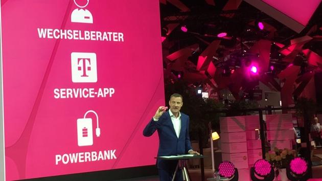 Deutsche Telekom: Powerbanks gegen zehn Euro Pfand im Telekom Shop