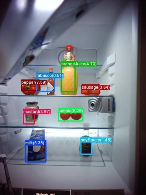 Der Kühlschrank erkennt Produkte, auch wenn er sie vorher noch nie gesehen hat