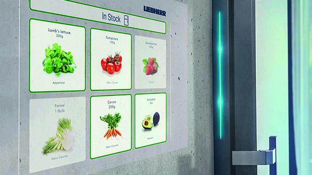 Liebherr und Microsoft: Aufrüstbarer Kühlschrank erkennt Ketchup in der Cloud