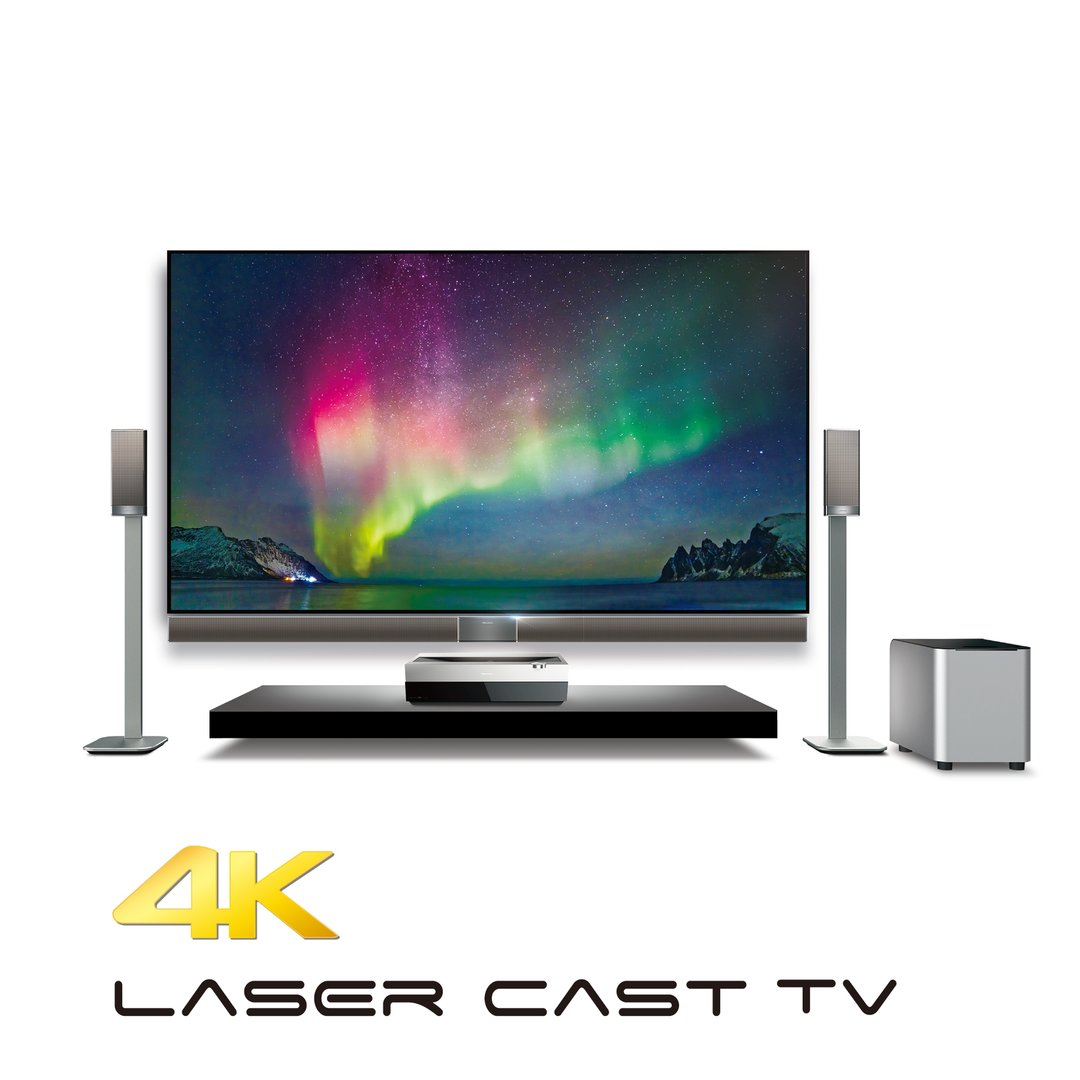 Hisense 4K Laser Cast TV