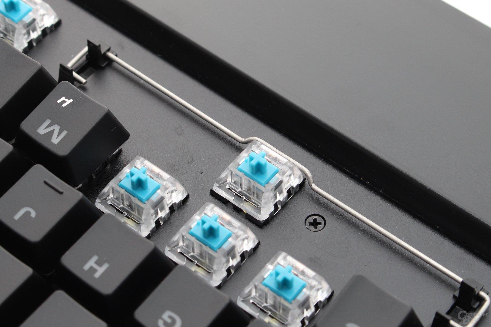 Die LED sitzt nun direkt auf dem PCB