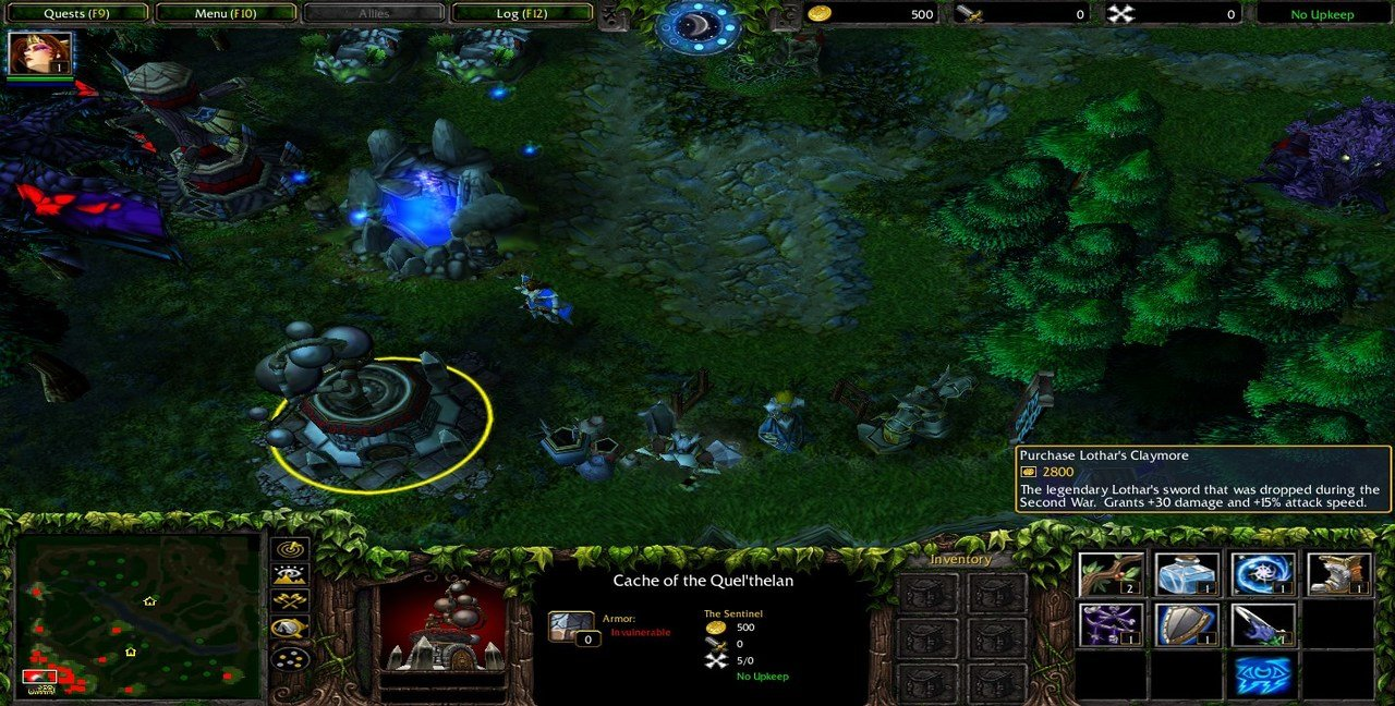 Dota für Warcraft 3: Reign of Chaos