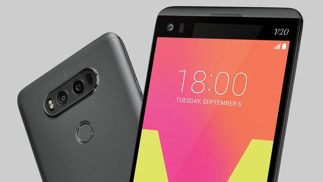 LG V20: Das erste Smartphone mit Android 7.0 hat 2Bildschirme
