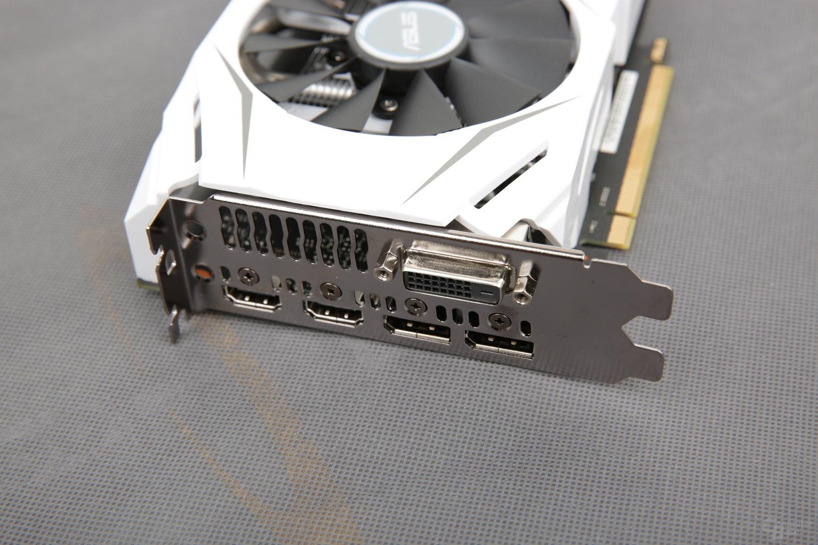 Asus GeForce GTX 1060 Dual OC – zwei Mal HDMI für VR