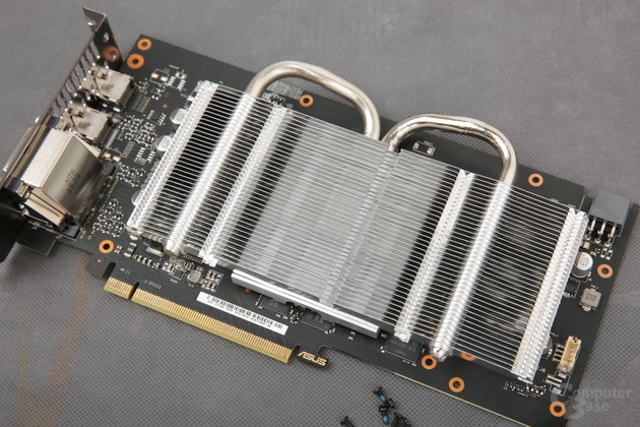 Asus GeForce GTX 1060 Dual OC – Kühlkörper