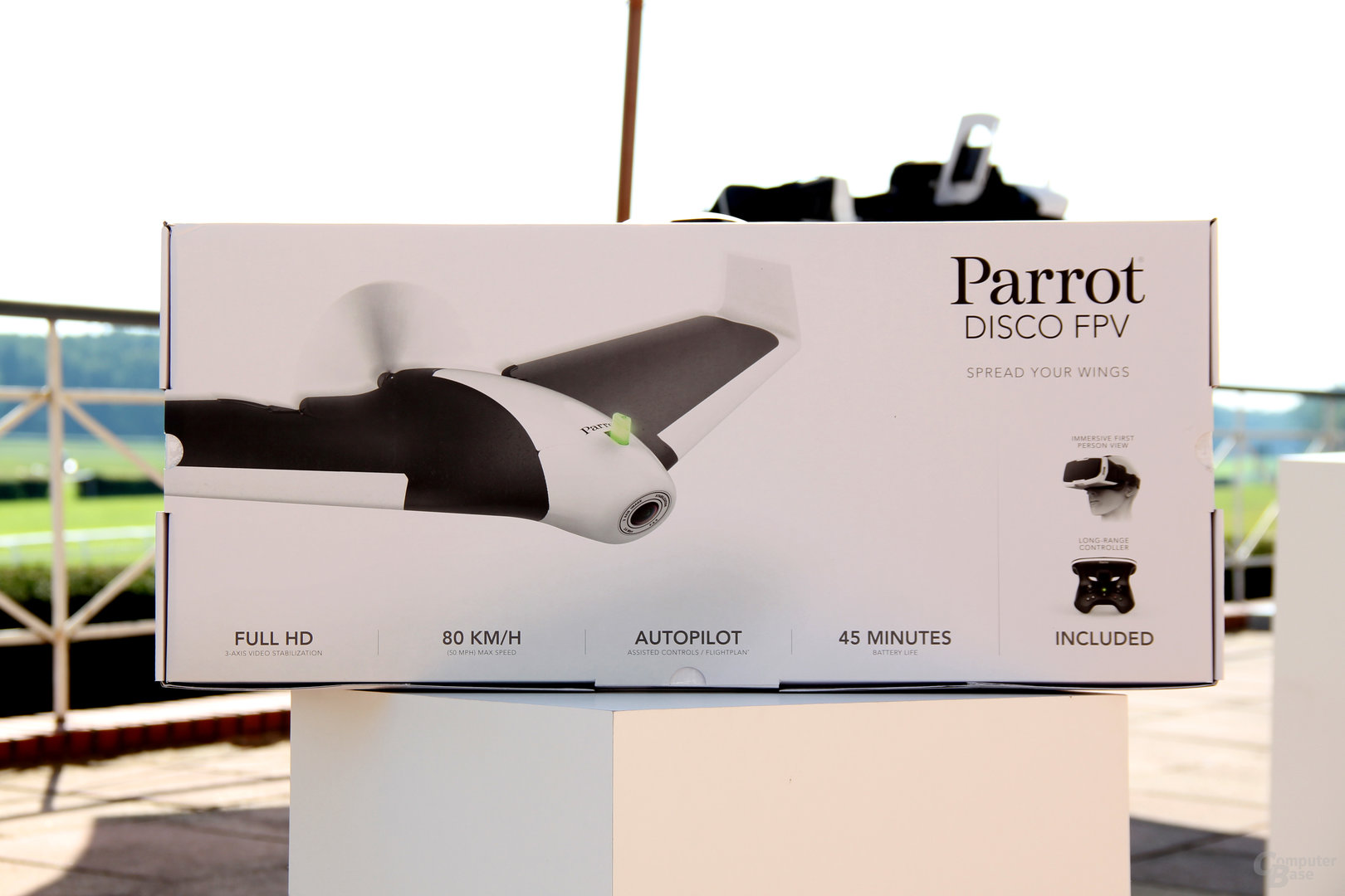 OVP der Parrot Disco