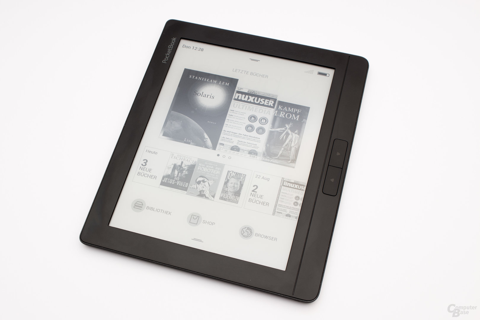 Frontseite des PocketBook InkPad 2