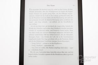Schriftbild des Aura One