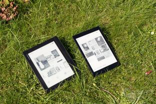 PocketBook InkPad 2 und der Aura One von Kobo