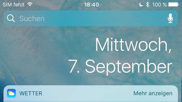 Jetzt verfügbar: iOS 10 Gold Master für Teilnehmer der offenen Beta