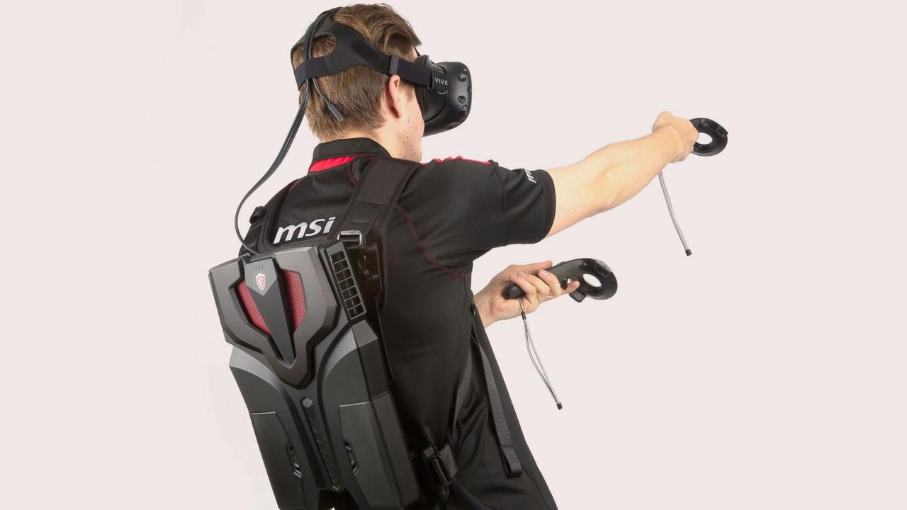 MSI VR One: Leistungsstarker Rucksack-PC für VR-Anwendungen