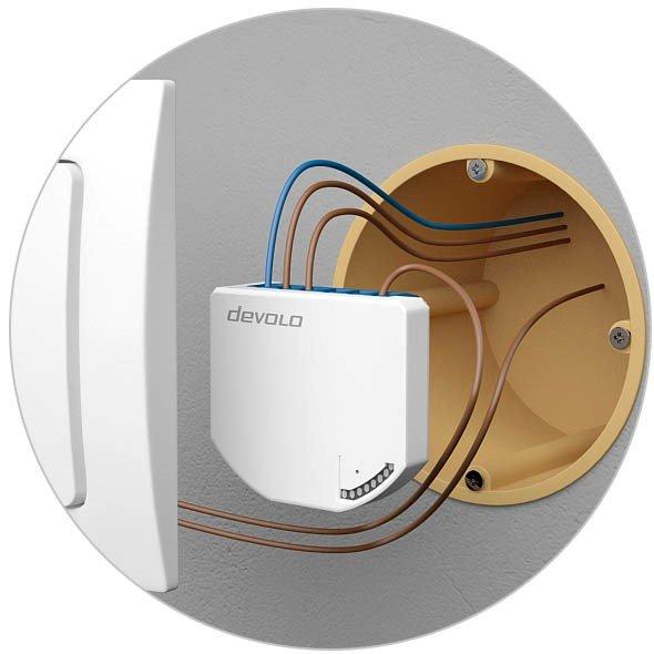 Unterputz-Baustein für Devolo Home Control