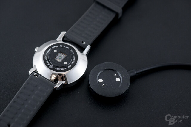 Withings Steel HR – Magnetisches Ladekonzept