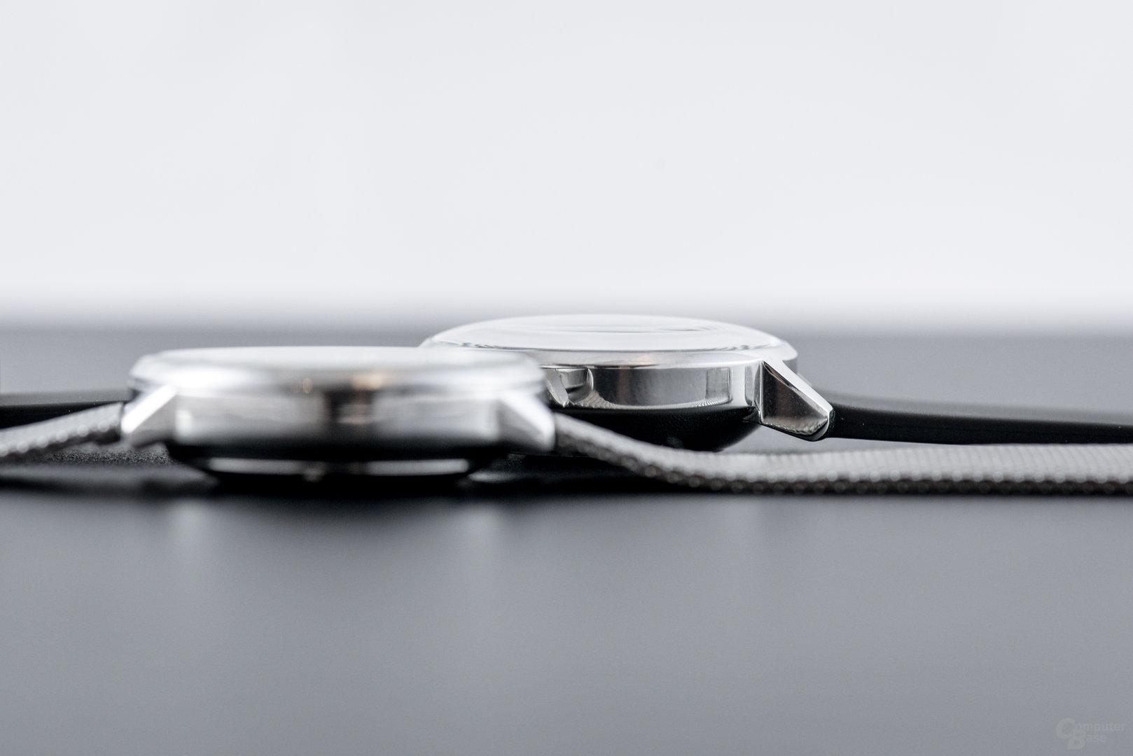 Withings Steel HR – Höhenvergleich (12 zu 13mm)