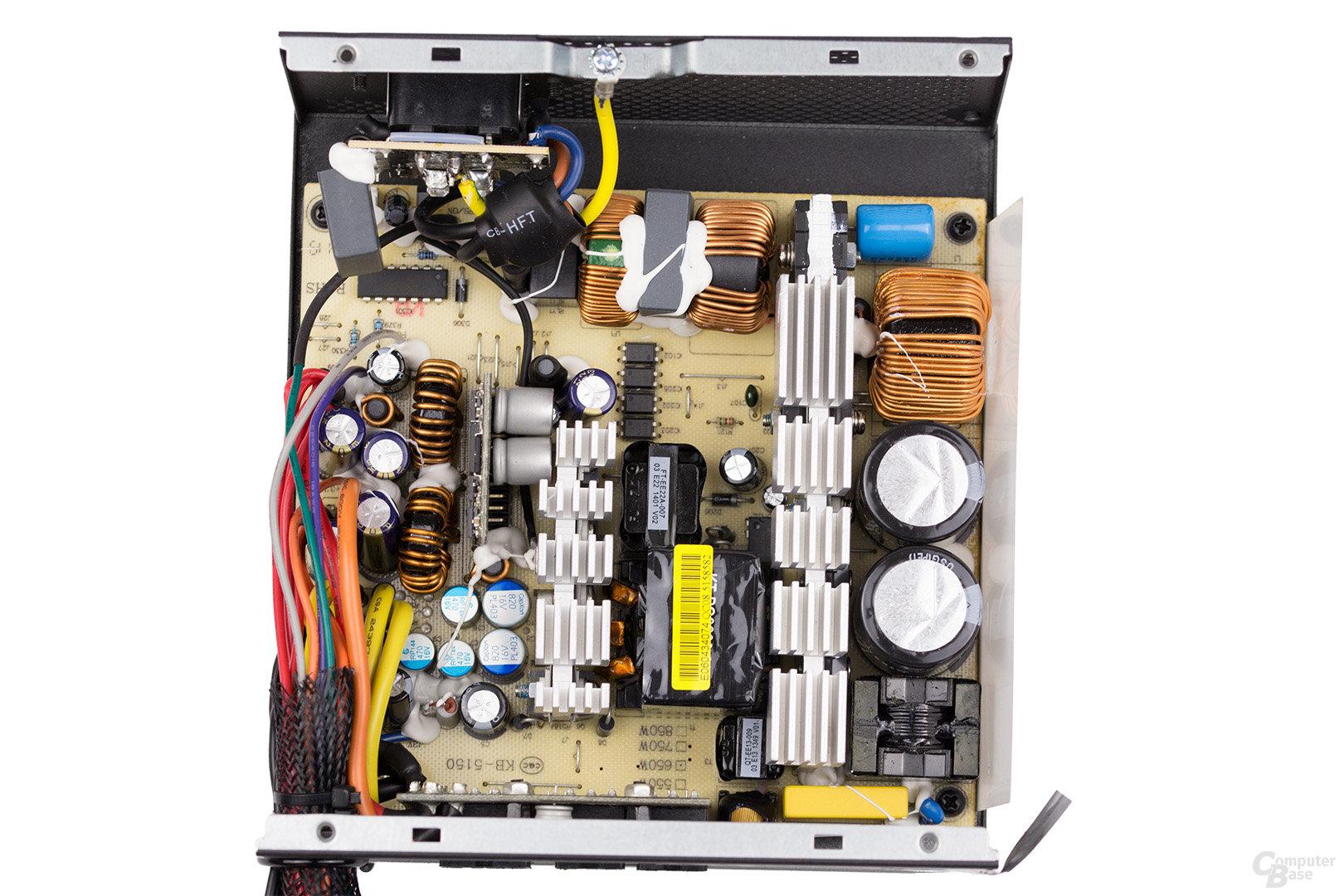 LC-Power LC8850III 850W – Überblick Elektronik