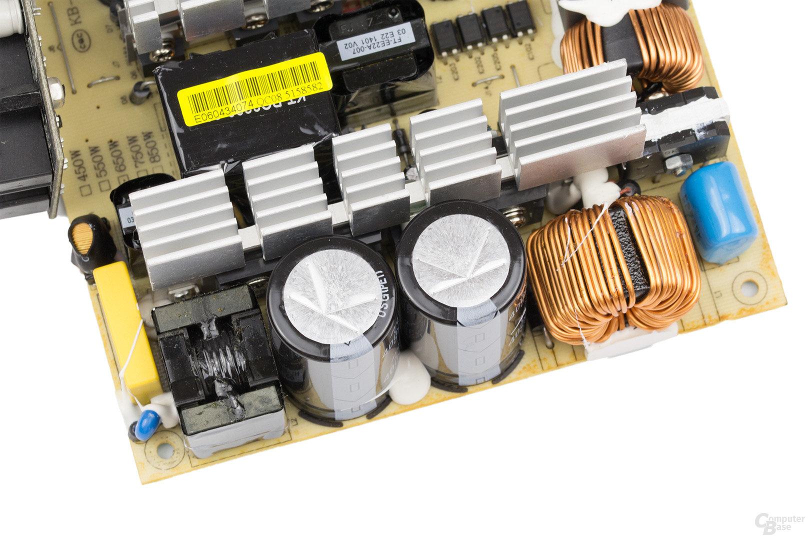 LC-Power LC8850III 850W – APFC und Halbbrücke