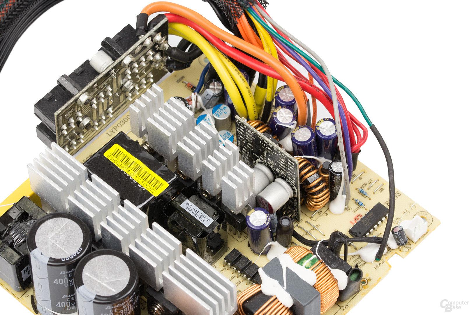LC-Power LC8850III 850W – Sekundärseite