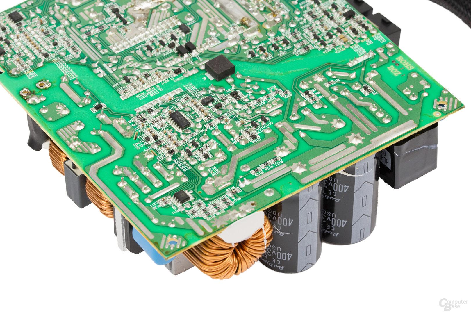 LC-Power LC8850III 850W – Lötqualität (Primärseite)
