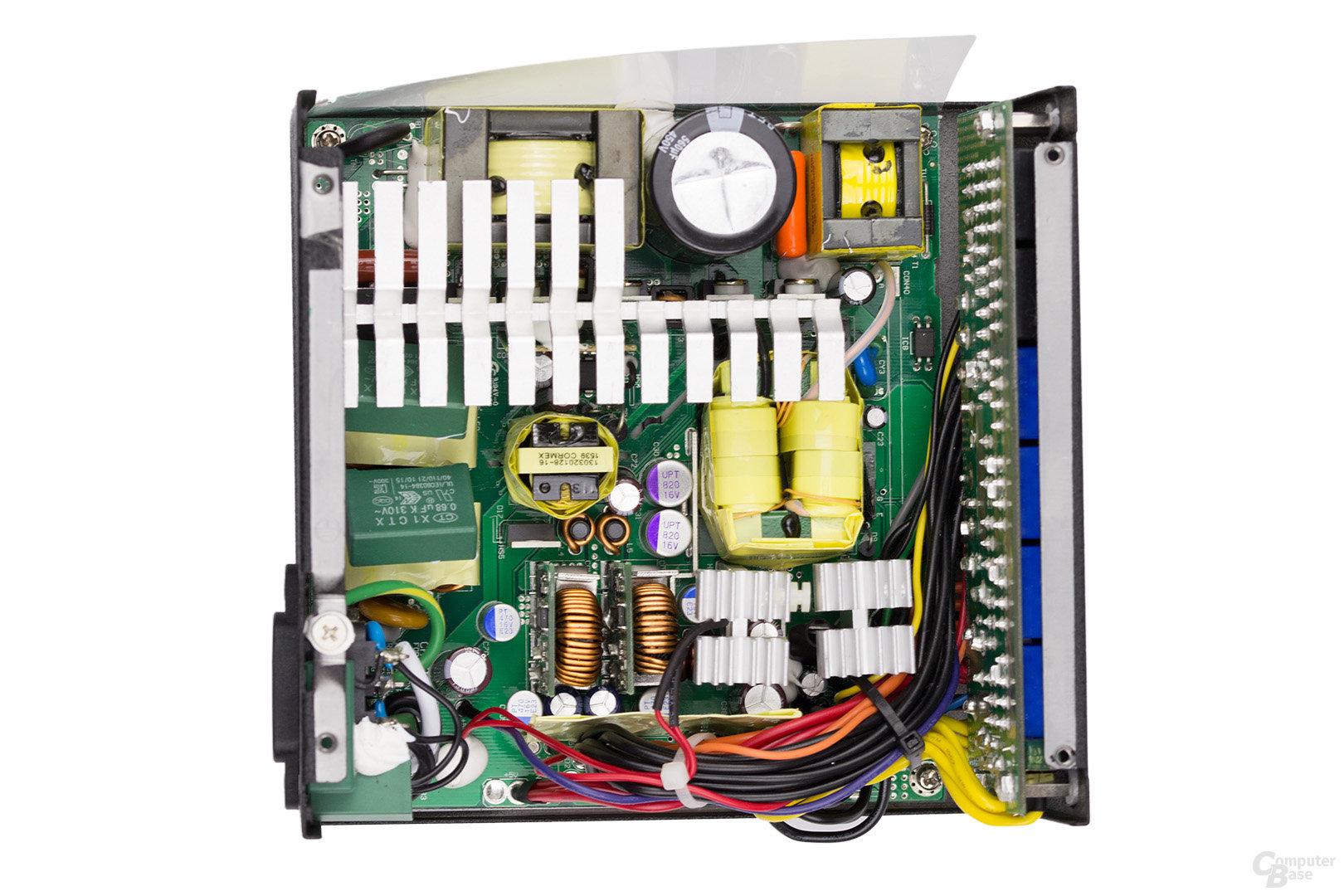 Silverstone Strider Titanium ST80F-TI 800W – Überblick Elektronik