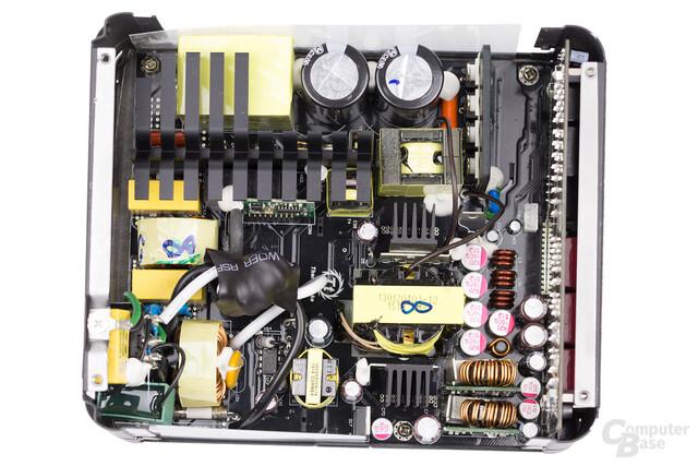 Thermaltake DPS G Platinum 850W – Überblick Elektronik