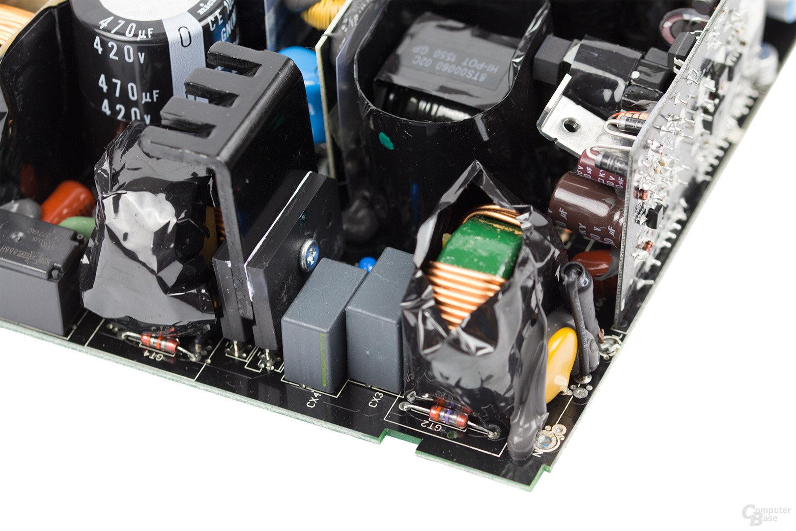 be quiet! Dark Power Pro 11 850W – Eingangsfilter