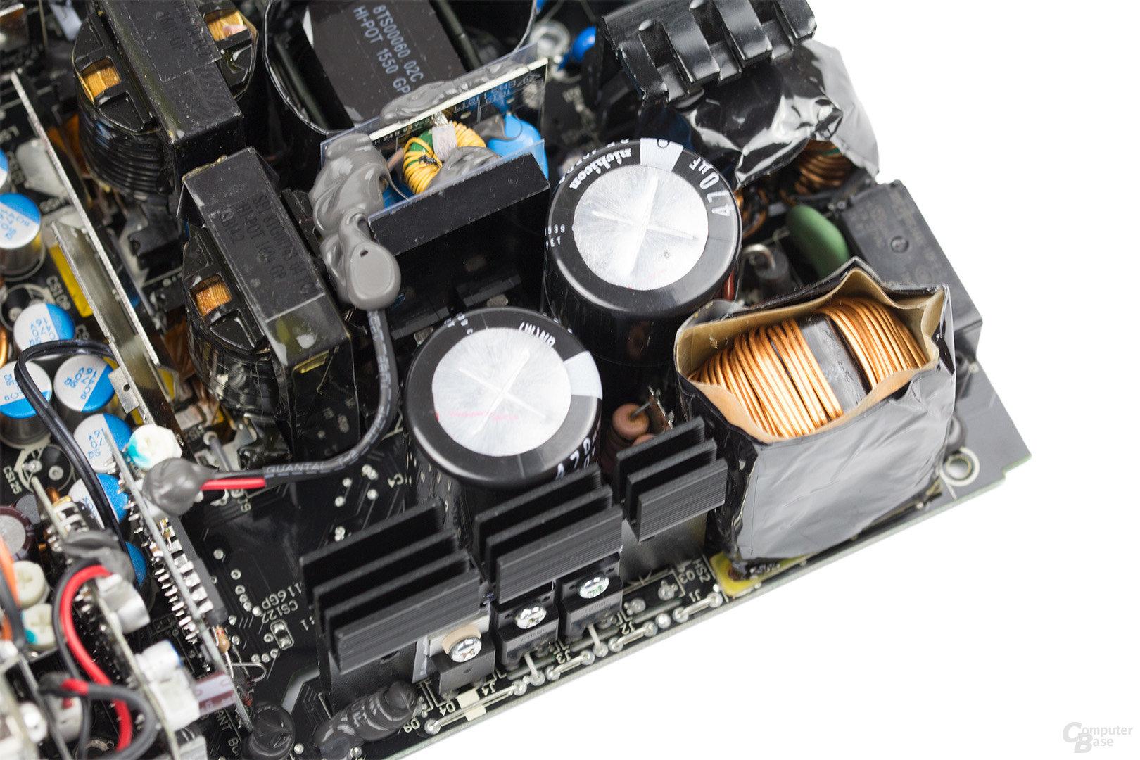 be quiet! Dark Power Pro 11 850W – APFC und Vollbrücke
